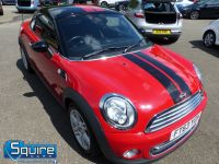 MINI COUPE COOPER ** ONLY 45,000 MILES - BLACK N RED ** - 2272 - 1