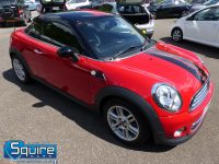 MINI COUPE COOPER ** ONLY 45,000 MILES - BLACK N RED ** - 2272 - 16