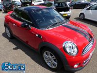 MINI COUPE COOPER ** ONLY 45,000 MILES - BLACK N RED ** - 2272 - 24