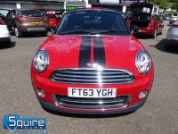 MINI COUPE COOPER ** ONLY 45,000 MILES - BLACK N RED ** - 2272 - 7