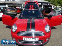 MINI COUPE COOPER ** ONLY 45,000 MILES - BLACK N RED ** - 2272 - 22