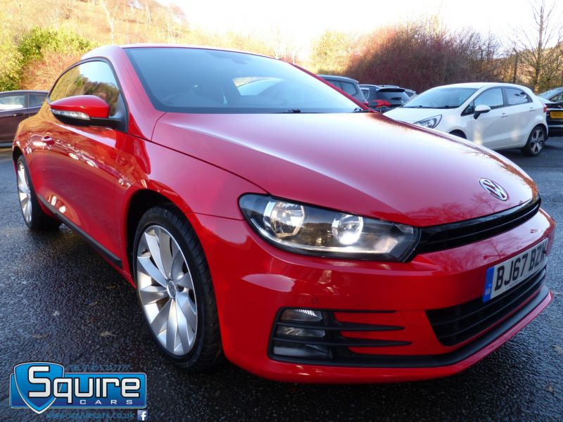Used VOLKSWAGEN SCIROCCO in Abertillery, Gwent for sale