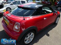 MINI COUPE COOPER ** ONLY 45,000 MILES - BLACK N RED ** - 2272 - 3