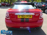 MINI COUPE COOPER ** ONLY 45,000 MILES - BLACK N RED ** - 2272 - 18